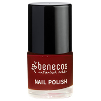 Nail Polish - Benecos Happy Nails - CHERRY RED