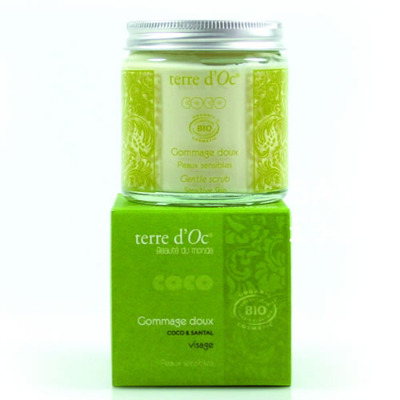 Face Scrub - Gentle  for sensitive skin Bali - 100ml