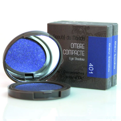 <!--107-->Eyeshadow Compact - with Argan oil - BLUE (401)