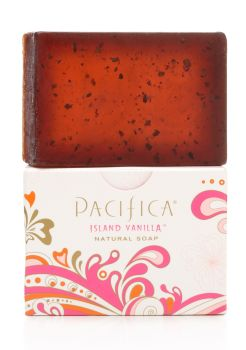 Island vanilla Soap with Jasmine - Pacifica 170g in box