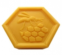 Honey Soap with Beeswax made in Provence (032)