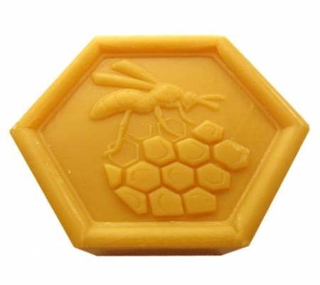 Honey Soap with Beeswax made in Provence