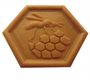Honey Soap with Propolis made in Provence (030)