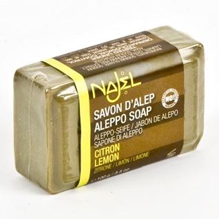 <!--032-->Aleppo Lemon Soap  100g - Najel