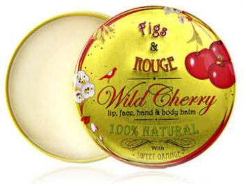 Lip Balm - Wild Cherry - Figs & Rouge 100% organic