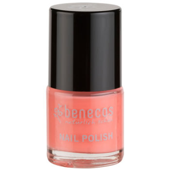 Nail Polish - Benecos Happy Nails - PEACH SORBET (pink)