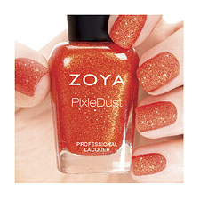 Zoya Nail Polish - Pixie Dust  Summer -  Dhara (Orange )
