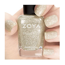 Zoya Nail Polish - Pixie Dust  Autumn  -  Tomoko (Silver)
