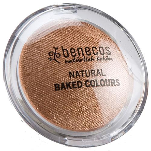 <!--214-->Eyeshadow Baked - Benecos MOKKA