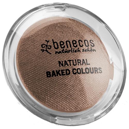 <!--214-->Eyeshadow Baked - Benecos CHOCOLATE