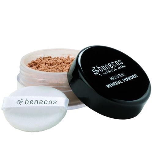 Mineral Powder - Natural - Medium BEIGE - Benecos