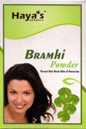 Bramhi Powder for hair - Hair Fall out & dandruff control - Haya