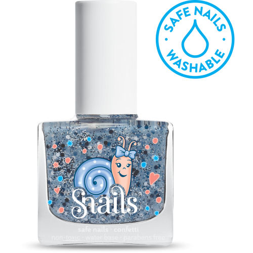 <!-- 005 -->Confetti -  Snails Washable Polish - *NEW COLOUR*