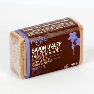 Aleppo Viiolet Soap  100g - Najel (026)