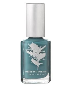 Priti NYC Nail Polish - TULIP TREE TEAL