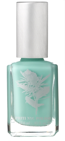 Priti NYC Nail Polish - LUNGWORT Green