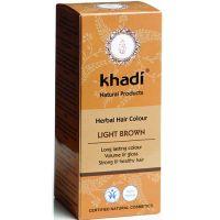 Herbal Hair Colour LIGHT BROWN  100g  Khadi