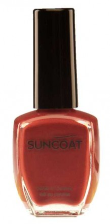 Suncoat water based natural Nail  - BERRY
