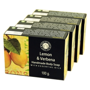 Lemon & Verbena with Essential Oils - Herbal Soap