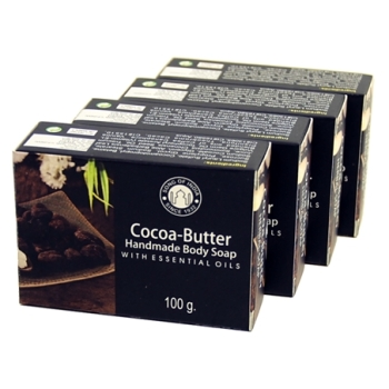 Cocoa Butter with Essential Oils - Herbal Soap
