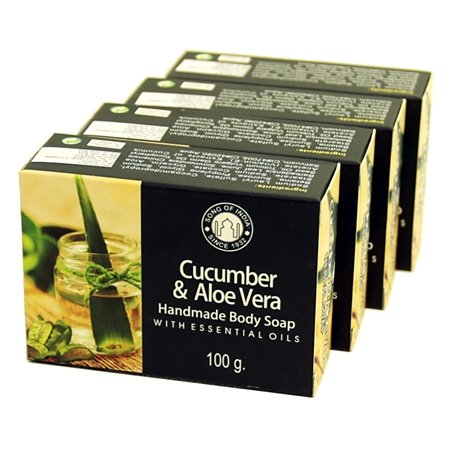 Cucumber & Aloe Vera with Essential Oils - Herbal Soap