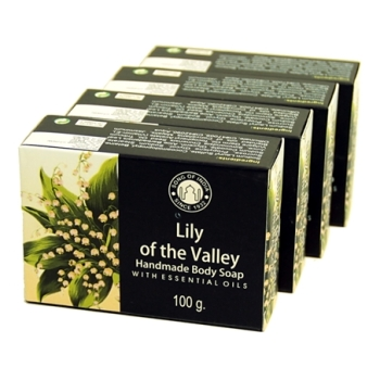 Lily of the Valley with Essential Oils - Herbal Soap