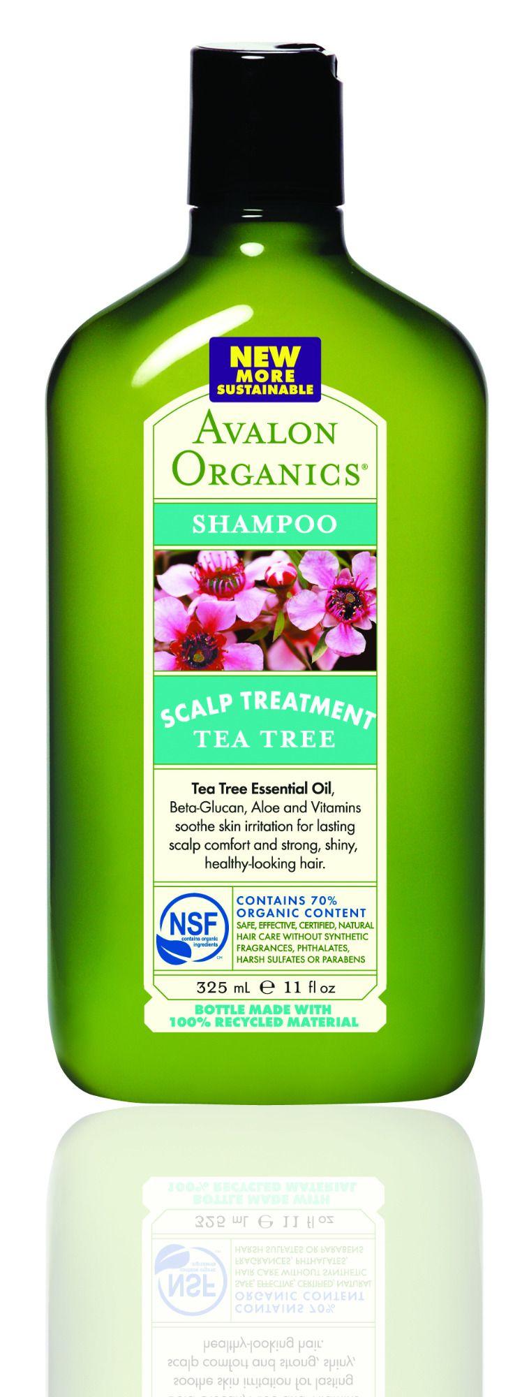 Tea Tree Scalp Treatment Shampoo - Avalon Organics