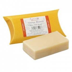 Orange Blossom Olive Oil Soap - 100g - Essence of Morocco