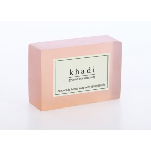 Rose Water Herbal Soap - Khadi 125g