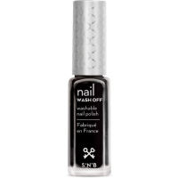 NEW BLACK  2170 - Snails Nails water soluble Nail polish