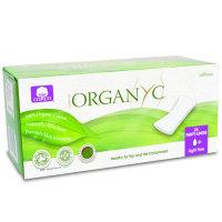 Organic Cotton Pantylinerss light flow- flat 24pk