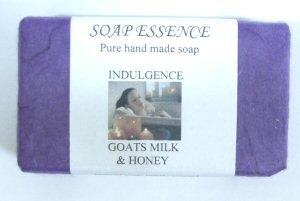 Goats Milk & Honey Handmade soap 'Indulgence'