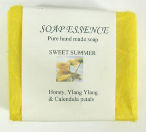 Honey, Ylang Ylang & Calendula Petals  Soap