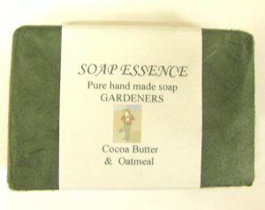 Gardeners Pure Hand made soap with oatmeal