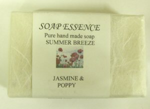 Jasmine & Poppy Pure Hand made soap Summer Breeze'