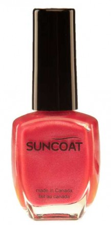 Suncoat water based natural Nail Polish Rose