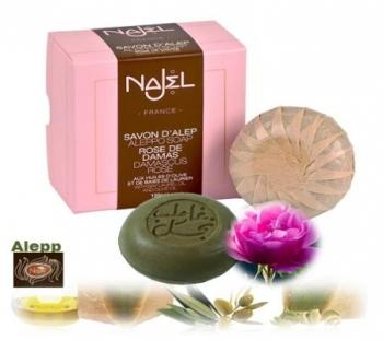 Aleppo Damascus Rose  Soap in gift box 100g