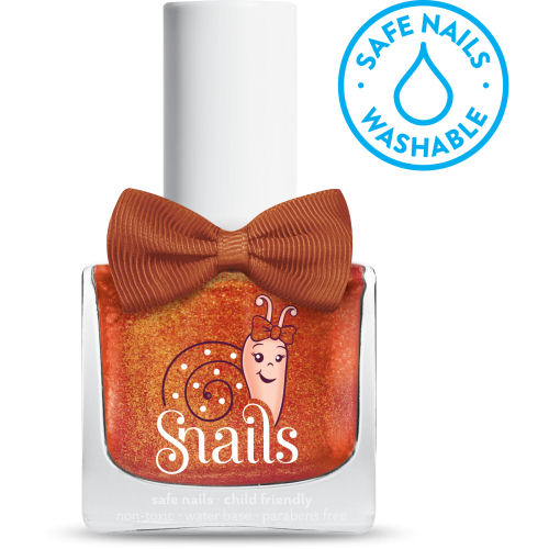 <!-- 016 -->Twinkle Dust - Shimmering Gold Snails Washable Polish