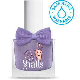 <!-- 013 -->Purple Comet  - VIOLET Snails Washable Polish