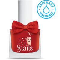 <!-- 009 -->Love Is...RED Snails Washable Polish