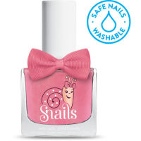 <!-- 006 -->Fairytale - Soft PINK Snails  Nails Washable Polish