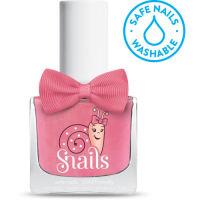<!-- 006 -->Fairytale - Soft PINK Snails  Nails Washable Polish