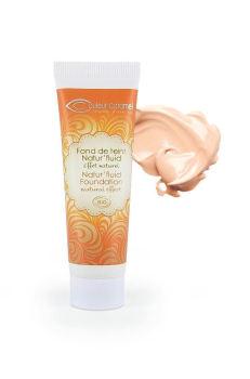 Foundation Natural Fluid  (11) Couleur Caramel - LIGHT BEIGE