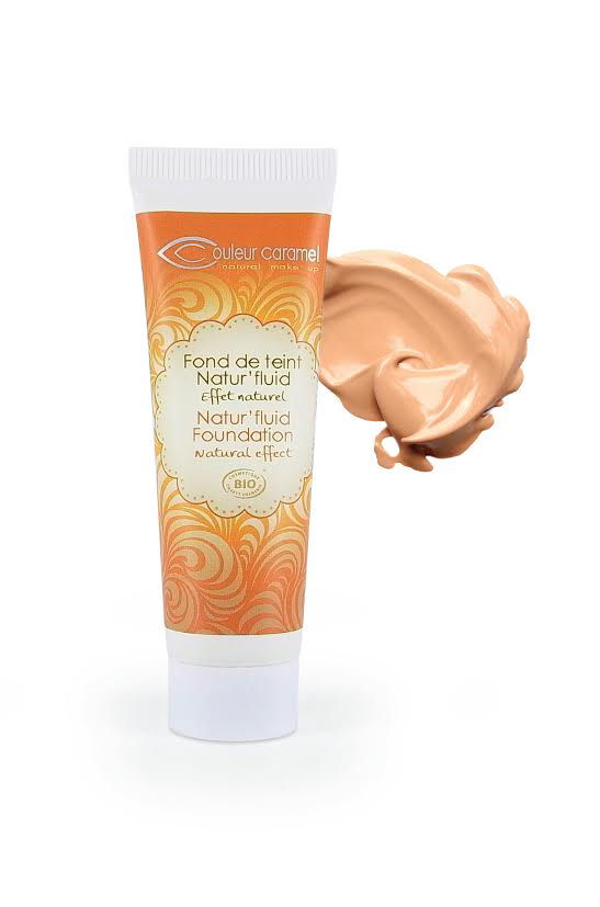 Foundation Natural Fluid  (13) Couleur Caramel - APRICOT BEIGE