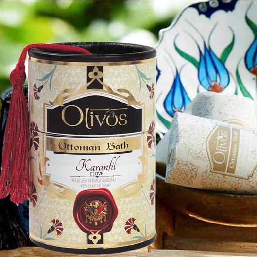 Olivos Ottoman Bath Turkish Soap - Clove 2 x 100g
