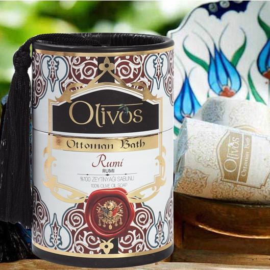 Olivos Ottoman Bath Turkish Soap - Rumi 2 x 100g