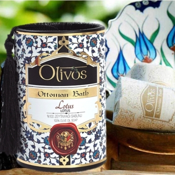 Olivos Ottoman Bath Turkish Soap - Lotus 2 x 100g