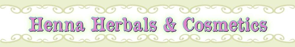Henna Herbals, site logo.