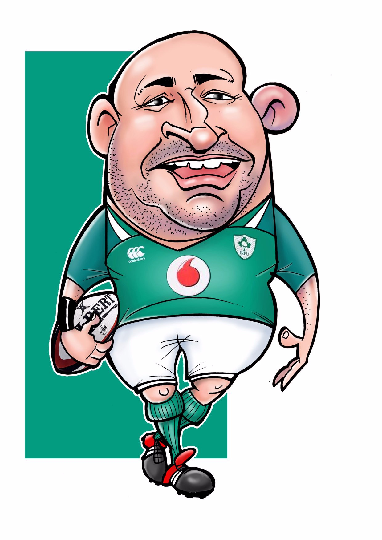 rory best caricature 2