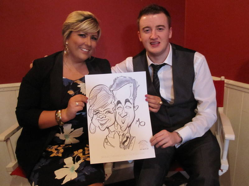 live caricature-clarion hotel 4